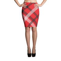 Razorback Cross Pattern Skirts | The Inked Elephant