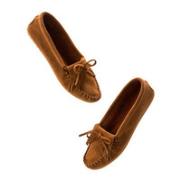 Minnetonka® Kilty Suede Moccasins - shoes - Women's SHOES & BOOTS - Madewell