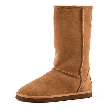 Women's Madison Tall Pull On Boot Camel