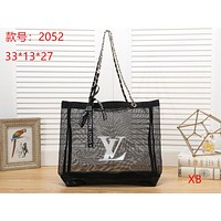 LV Louis Vuitton ladies fashion leather handbag clutch bag card credit card wallet size:33*13*27