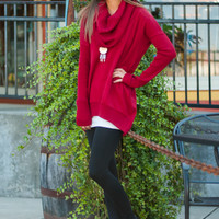 Call Me Sweater, Red