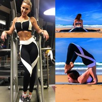 Women Sports Yoga Workout Leggings