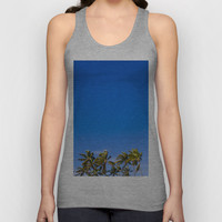 Palm Trees Unisex Tank Top by JacPfef