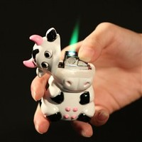 Wholesale Pemrunup Milk Cow Shaped Butane Lighter with Moo Sound Effects - DinoDirect.com