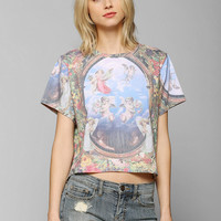 Blackstone Sublimated Angel Tee - Urban Outfitters