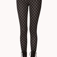 Dotted Grid Leggings