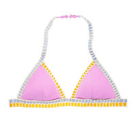 The Crochet-trim Teeny Triangle Top - Victoria's Secret