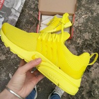 NIKE AIR PRESTO Tide brand men and women sports and leisure mesh breathable running shoes
