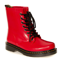 Dr Martens Drench Boot Wellies (Red)