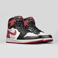 "Air Jordan 1 Retro High OG ""SIX CHAMPIONSHIPS"" Track Red AJ1 - Best Deal Online"