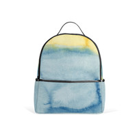 Ocean Watercolor Backpack