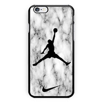 New Best Seller Nike White Marble Hard Case Cover for iPhone 6/6s 6s Plus 7 7+