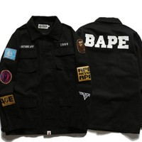BAPE SHIRT JACKET