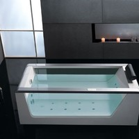6 ft. Luxury Clear Whirlpool Hot Tub w Stereo & Lights:Amazon:Appliances