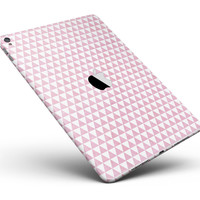 """The Micro Pink Polka Dots Full Body Skin for the iPad Pro (12.9"""" or 9.7"""" available)"""