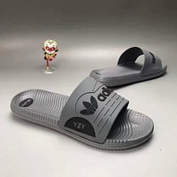 """""""Adidas X Yeezy"""" Fashion Casual Comfortable Sandals Shoes Men Coconut Slippers"""