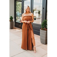 Rodeo Drive Jumpsuit (Toffee)