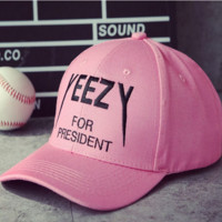 Yeezy for President  Baseball Cap Hat