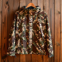 Men's Camo Slim Fit Quilted Lightweight Hooded Jackets