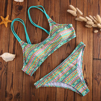 2016 New Retro Bikini Set Beach Swimsuit Summer Gift 202