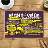 Welcome To Night Vale Placemats