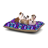 "Art Love Passion ""Kaleidoscope Dream Continued"" Purple Pink Dog Bed"