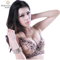 bra 85a Sexy Lace Plus Size Bras sutian Push Up bra 85a Thick  Underwear womens bras padded push up Brassieres T405