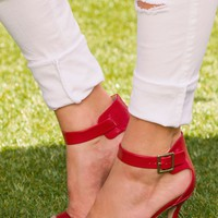 Giovanna Heels - Red