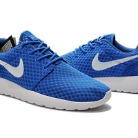 """""""Nike Roshe Run BR"""" Unisex Sport Casual Honeycomb Net Cloth Breathable Sneakers Couple Running Shoes"""