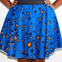 African Fabric Flared Circle Spinning Fun Skirt - Various Fabrics - Any Size Including Kids