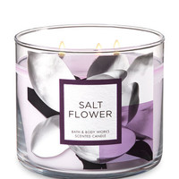 SALT FLOWER3-Wick Candle