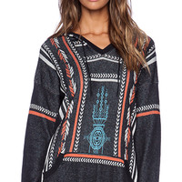Twelfth Street By Cynthia Vincent Baja Hoodie in Black