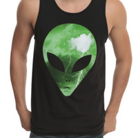 Green Alien Tank Top