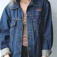 """The Dulcimer Gang"" Denim Jacket"