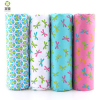 Dragonfly Patchwork Cotton Fabric Fat Quaters Tilda Cloth Quilting Patchwork Fabrics For Sewing Doll Cloth   4pcs/lots 40*50CM