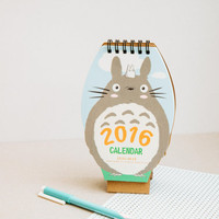 My Neighbour Totoro, *NOW HALF PRICE!* Studio Ghibli - 2016 desk calendar