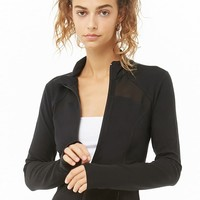 Active Mesh-Trim Jacket