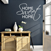 Wall Decal - Home Sweet Home decal for housewares