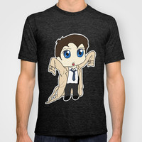 Supernatural Castiel T-shirt by RoxyJ
