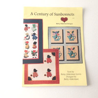 A Century of Sunbonnets- Quilt Patterns with Applique