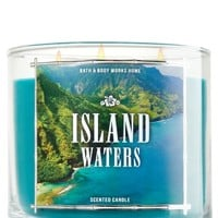 3-Wick Candle Island Waters