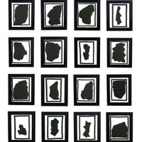 Group of Black and White Prints by Sol LeWitt
