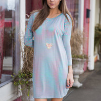 Yours And Line Dress, Mint