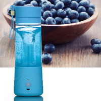 Mini Portable USB Electric Fruit Juicer Smoothie Maker Blender Ice Crusher 380ML