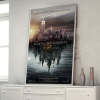 The Mortal Instruments City Of Bones Poster A1 (841 x 594 mm - 33.1 x 23.4 in)