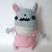 Minnie - handmade plush bunny