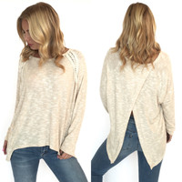 All Eyes On You Knit Blouse
