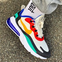 shosouvenir NIKE Air Max 270 React Air cushion jogging shoes
