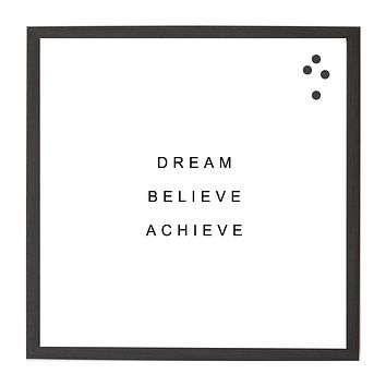 Ebony Dream Believe Achieve