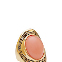 Fresh Faux Stone Cocktail Ring